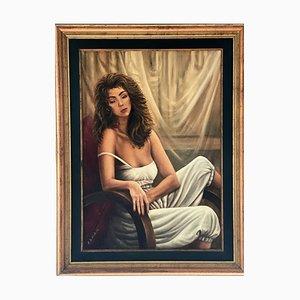 Massimiliano De Winter, Flavia, Oil on Canvas