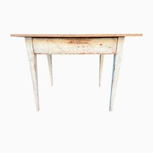 French Fir Farmhouse Table, 1900s