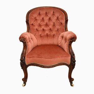 Antique Victorian Carved Armchair