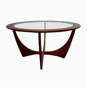 Mid-Century Round Teak Astro Table by Victor Wilkins for G-Plan