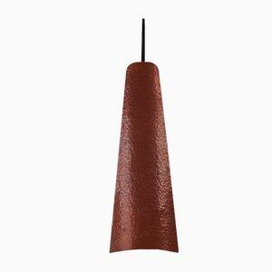 Dänische Vintage Kupfer Wandlampe