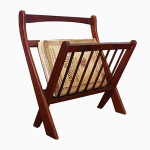 Folding Magazine Rack in the Style of Cees Braakman, 1950s
