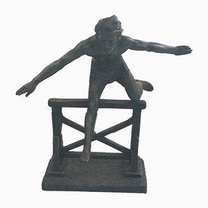 Hurdle Jump Skulptur von H Fugere