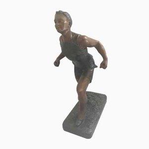 Rider Skulptur von H Fugere