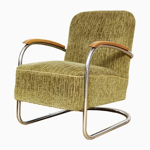 Art Deco Cantilever Chair from Mücke Melder, 1930s