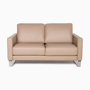 2-Sitzer Ego Sofa aus Braunem Leder von Rolf Benz