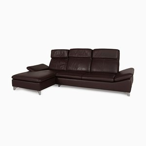 Brown Leather Sofa from Willi Schillig