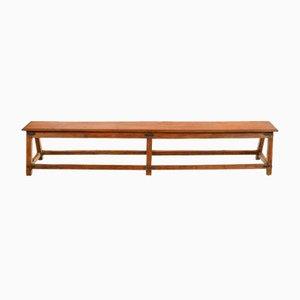 Long Wooden Bench