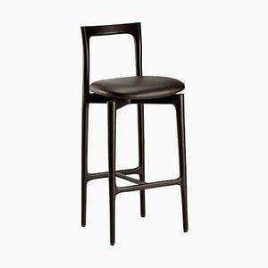 Chaise de Bar Grise par Collector