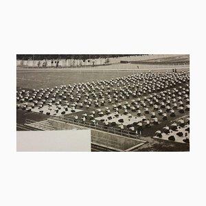 Unknown, Female Gym Übungen während des Faschismus in Italien, Vintage S / W Fotografie, 1934