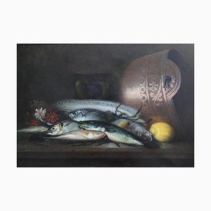 Jules Jacques Olivier, De Cocquerel Poissons, Citron et Cuivre, 1901
