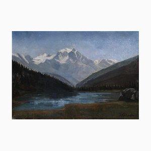 Louis Camille Gianoli, Lac de Montagne, 1937