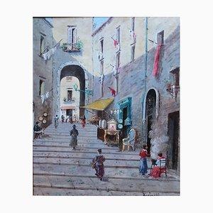 Oscar Ricciardi, Passage en Ville Animée, 1922