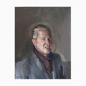 René Guinand, Autoportrait au Clin d'œil, 1938