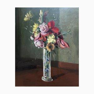 Alexis Louis Roche, Bouquet dans son Vase, 1957