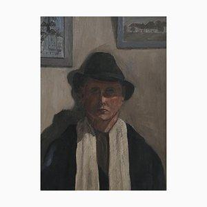 Jean Verdier, Autoportrait au Chapeau, 1945