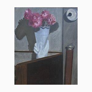 Jean Verdier, Bouquet Rose et la Canne au Pommeau d'Argent, 1945