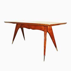 Italienischer Tisch aus Kirschholz, 1950er