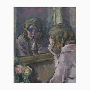 Henri Fehr, Jeune Femme au Rouge à lèvres, 1947