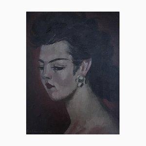 Emile-François Chambon, Portrait de Ludmilla Barta, 1942