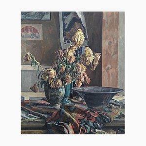 Philippe Zysset, Composition et Fleurs, 1956