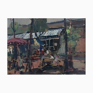 Walter Mafli, Place du marché, 1959