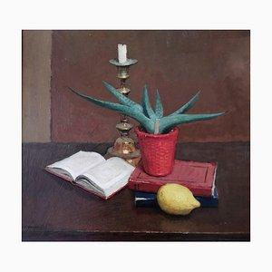 Charles Varese, Nature morte au cactus, 1937