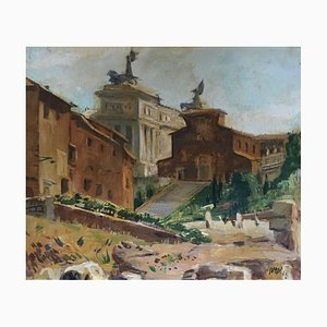 Luigi Surdi, Roma, La Chiesa dell'Ara Coeli, 1942