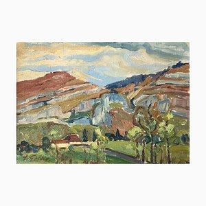 Henri Vincent Gillard, Les granges de Thônex, 1941
