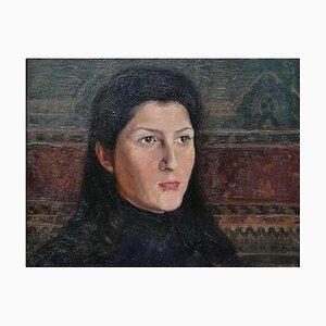 Charles Alexandre Mairet, Portrait De Femme, 1905