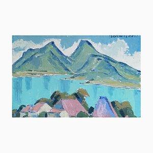 Percival Pernet, Lac d'Annecy, 1951