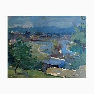 Mady Epstein, Vue sur le lac, 1958