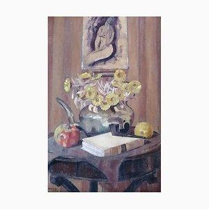 Piero Poraccia, Bouquet de Fleurs und Portrait de Nue, 1924
