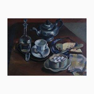 Henry Meylan, Nature morte avec thé, 1927