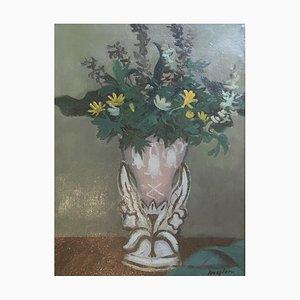 Henry Meylan, Bouquet de fleurs champêtres, 1973