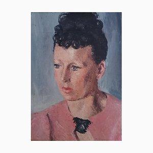 Pierre Jacques, Femme à la blouse rose, 1953