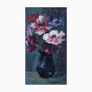 Taki Kawa, Nature morte Bouquet de fleurs, 1939