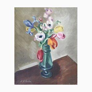 Alexis Louis Roche, Bouquet de fleurs, 1940