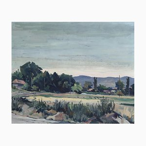 Kurt Conrad Loew, Paysage, 1964