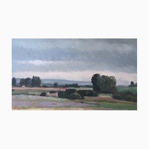Armand Rouiller, Paysage de Campagne, 1963