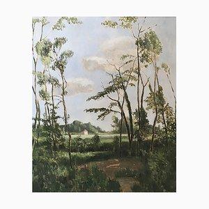Eugène Louis Martin, Paysage de campagne, 1937
