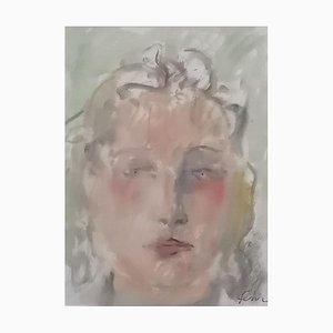 Henri Fehr, Portrait de Femme, 1902