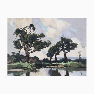 Lucien Peri Corse, l'embouchure du Liamone, 1940