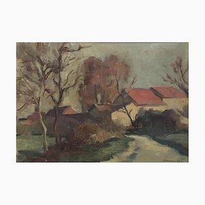 Charles Émile Moïse, Hornung Paysage de campagne, 1929