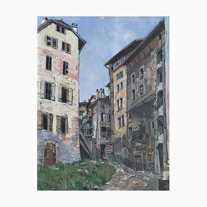 René Samuel Beguin, Village de montagne, 1930