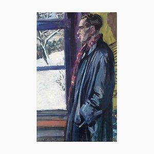 Victor Rutz Break, Self Portrait, 1946