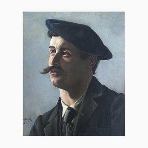Sculpture d'Arthur Charles, Henri Herzog, Autoportrait, 1905