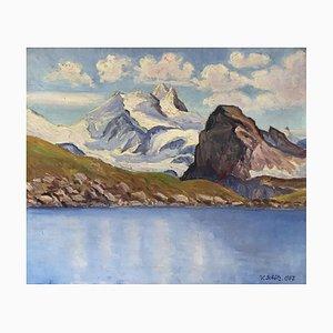 Victor Schütz, Lac de montagne, 1937