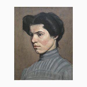 Portrait de Jeune Femme Fernand Bovy, 1947
