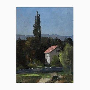 Ernst Zwahlen, Paysage, 1985